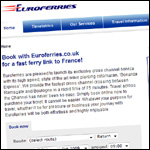 Euroferries-website