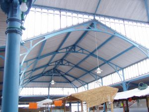 Roof of Indoor Market 300
