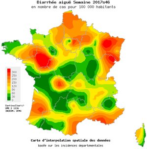 gastroenteritis in France