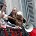Femen activists disrupt May Day speech by Marine Le Pen