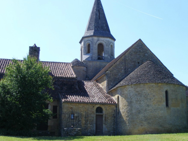 Loubejac-church
