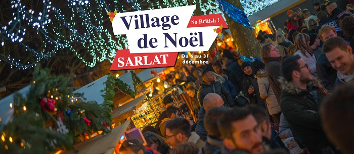 Sarlat Christmas fair