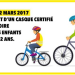 Bicycle helmets compulsory for young children