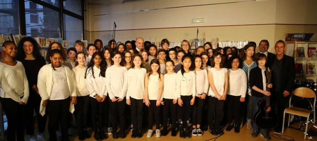 Plan for a choir in every school launched by French government