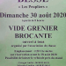 Vide grenier in Besse: Sunday 30 August