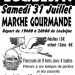 Marche gourmand during a Loubejac evening: 31 July, 2021