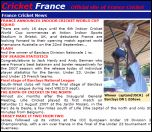 France cricket site