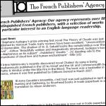 French publishers agency
