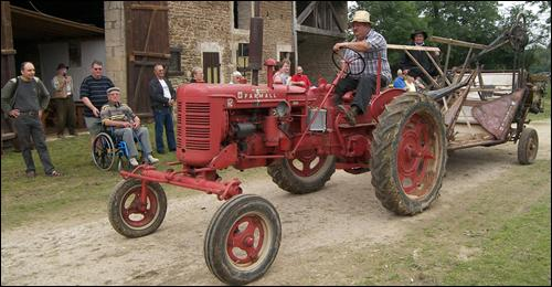 Tractor learn French